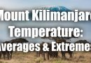 Mount Kilimanjaro Temperature